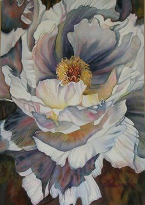 Peony by Theresa Miller (excellent detail)