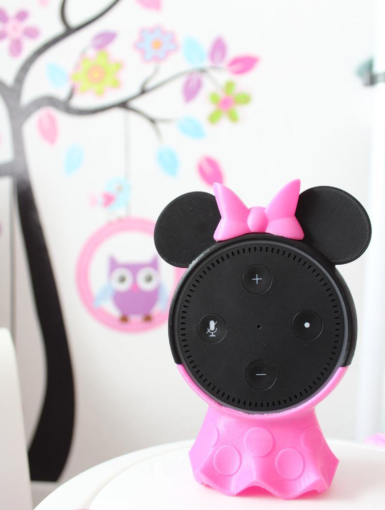Pin Auf Minnie Maus Amazon Echo Dot
