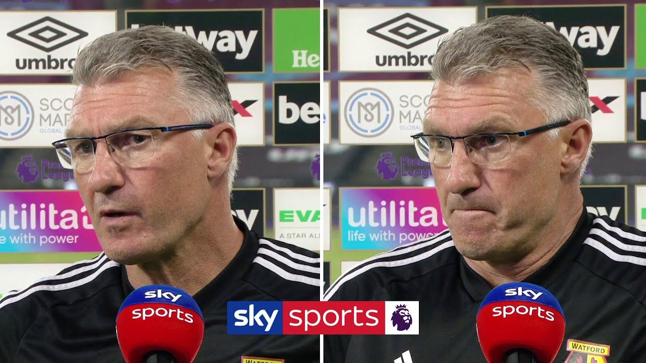 """We had passengers"" 😠 Nigel Pearson gives angry"