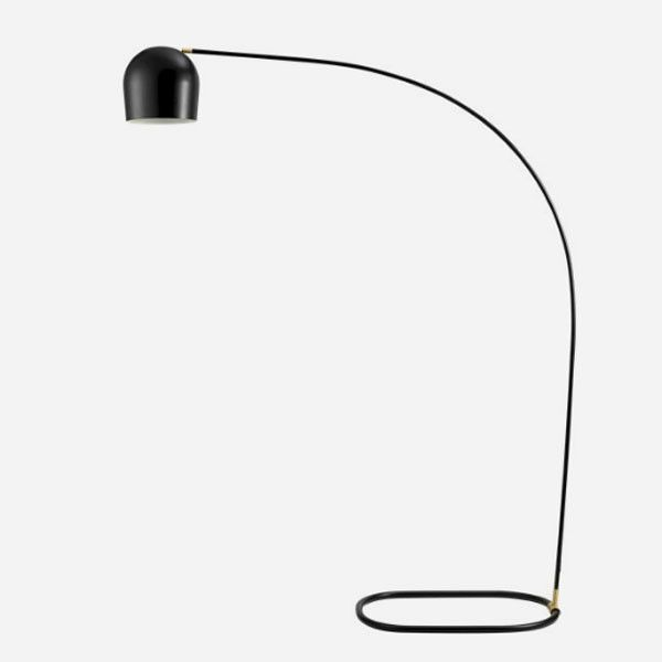 Circle Floor Lamp from KOPERHUIS | For the Home | Pinterest | Floor lamp