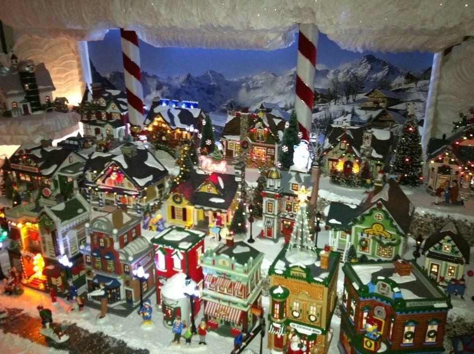 Christmas town christmas Pinterest Wonderful time - christmas town decorations