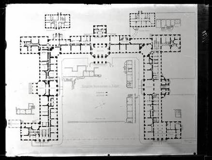 neues schlo grundri des erdgeschosses palaces pinterest grundriss schloss und architektur. Black Bedroom Furniture Sets. Home Design Ideas