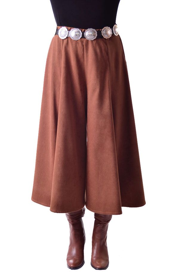 3ea65746d3119 These Western Gaucho pants or Riding Skirt is one of our newest colors in a  warm