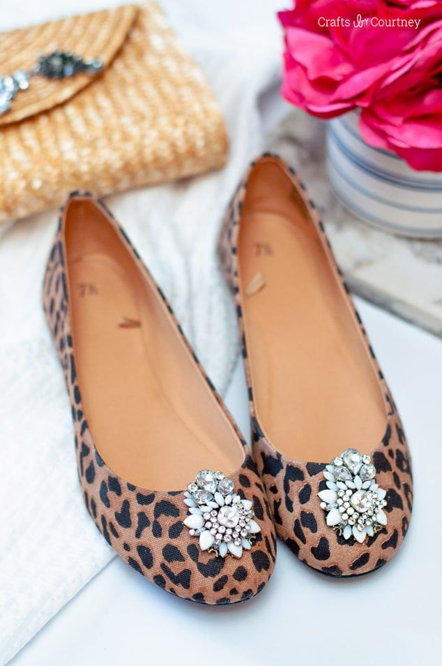 Diy Crafts Ideas : Bejeweled heels - Make a classic pair