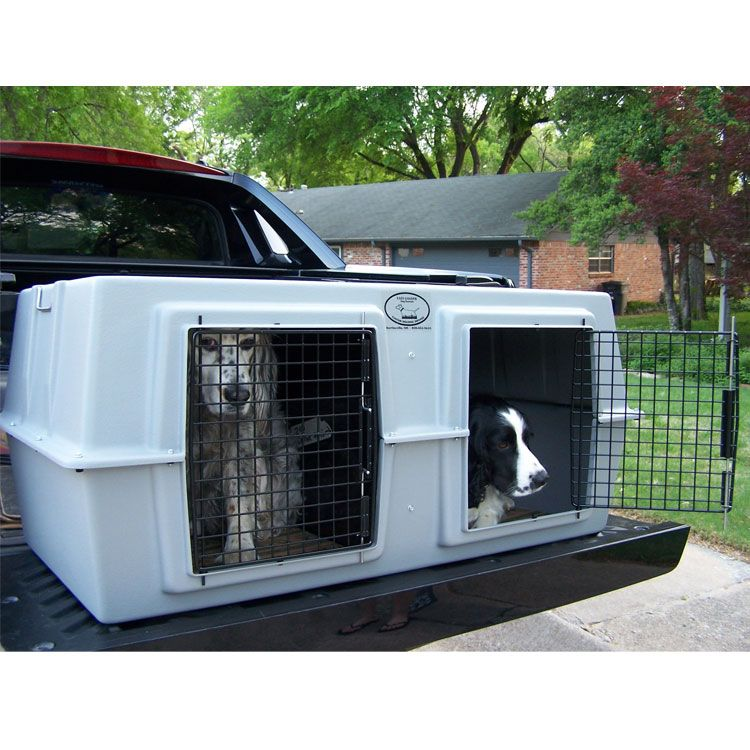 The Easy Loader Two Dog Kennel Is Perfect For Transporting