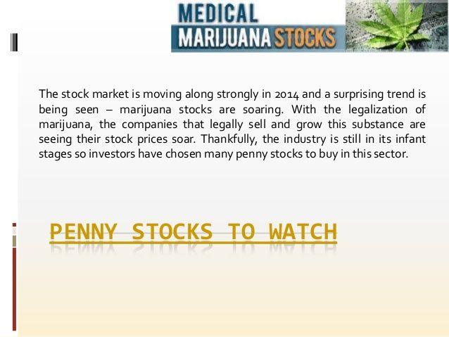 Marijuana stocks to invest in
