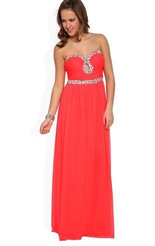 a28d5ec878f Coral prom dress... Debs.com