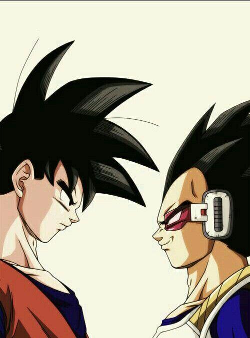 Goku Vegeta Dbz Dragonball Dragon Ball Dragon Ball Artwork Dragon Ball Art