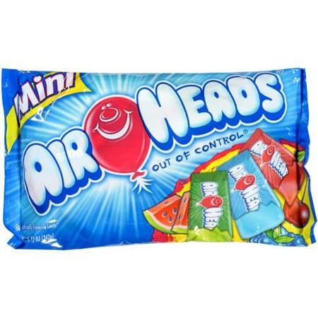 Airheads Assorted Mini Bars, 12 oz