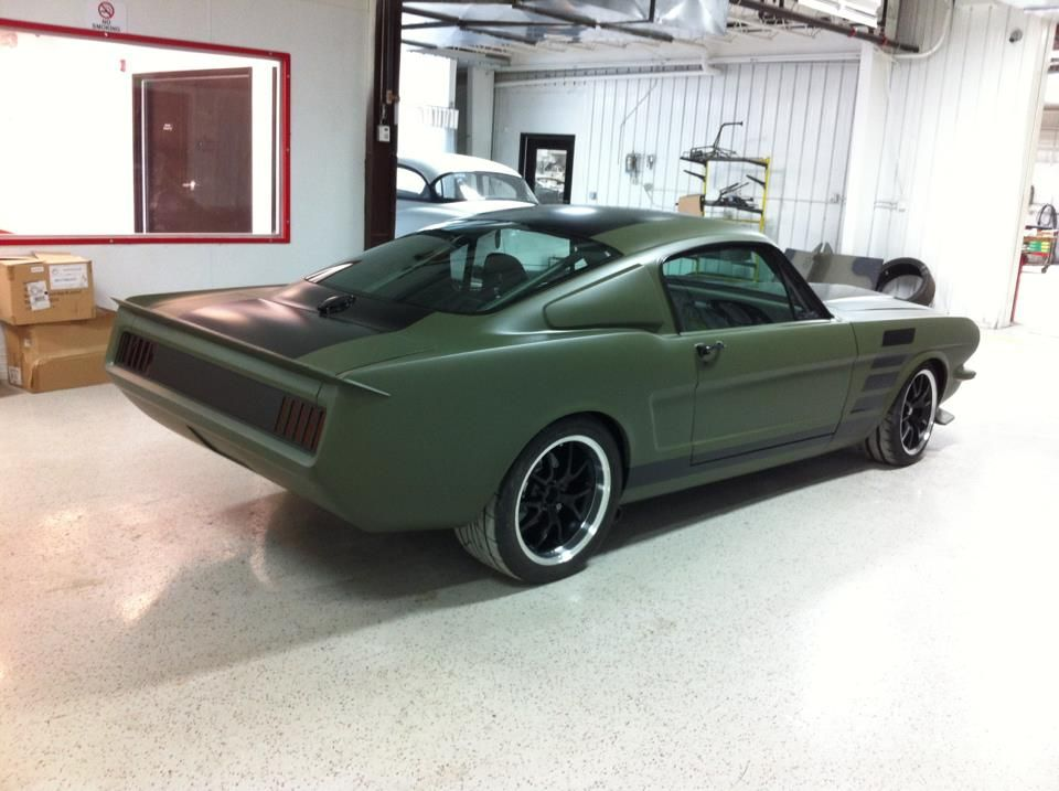 Custom Ford Mustang Fastback By The Restomod Store Ford Mustang Classic Mustang Ford Mustang Fastback