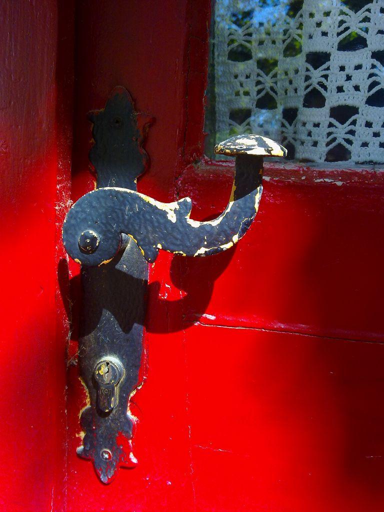 Memory In Red Wine Andros Greece Red Door Andros Unique Doors