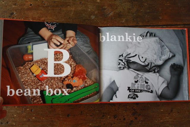 The Jackson Update: DIY Alphabet Book for Your Child