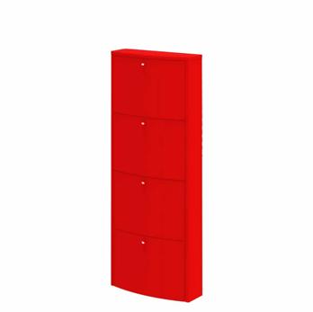 Home Flash Szafka Na Obuwie Wypukla Cztery Kosze Locker Storage Storage Furniture