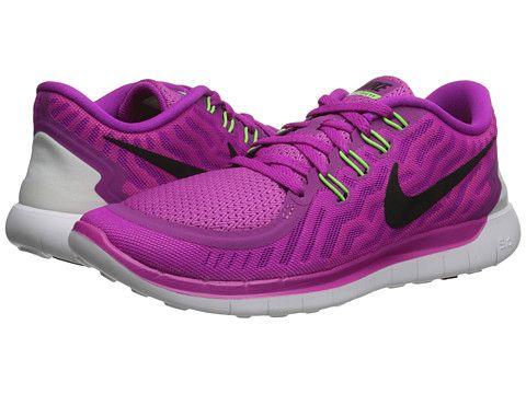 30b78f63fb25 Nike Free 5.0 Fuchsia Flash Pink Pow Hot Lava Black - 6pm. Pink Running  ShoesWomen ...