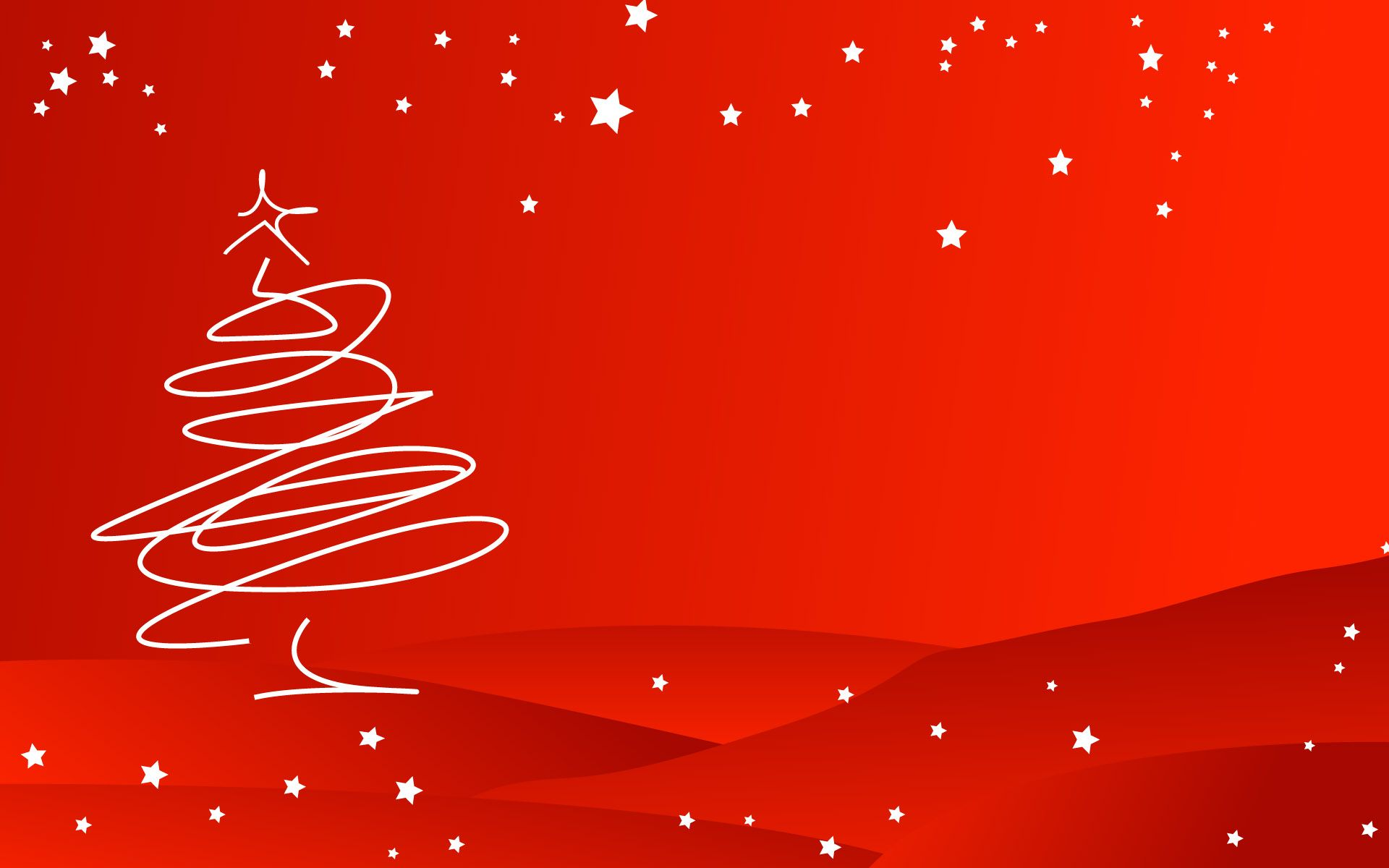 Fondos Verdes De Navidad Para Pantalla Hd 2 Hd Wallpapers: Fondo Rojo Con Arbol De Navidad Hd 1920x1200