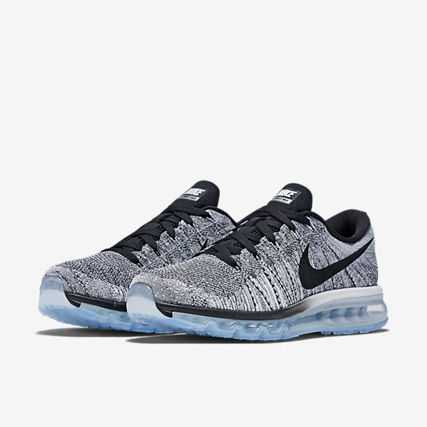 Nike Flyknit Air Max Mens White Black Mens Nike Shoes