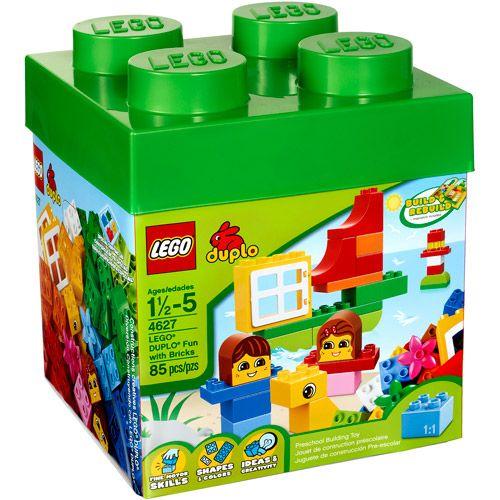 LEGO Duplo Fun with Bricks Building Set, 85 pieces | Lego duplo ...