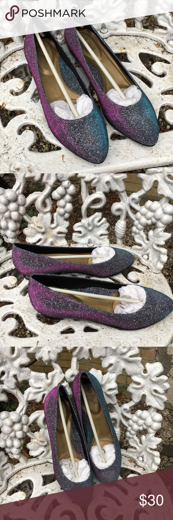 Vintage ombré hush puppies flats nwt puppy shoes hush puppies and