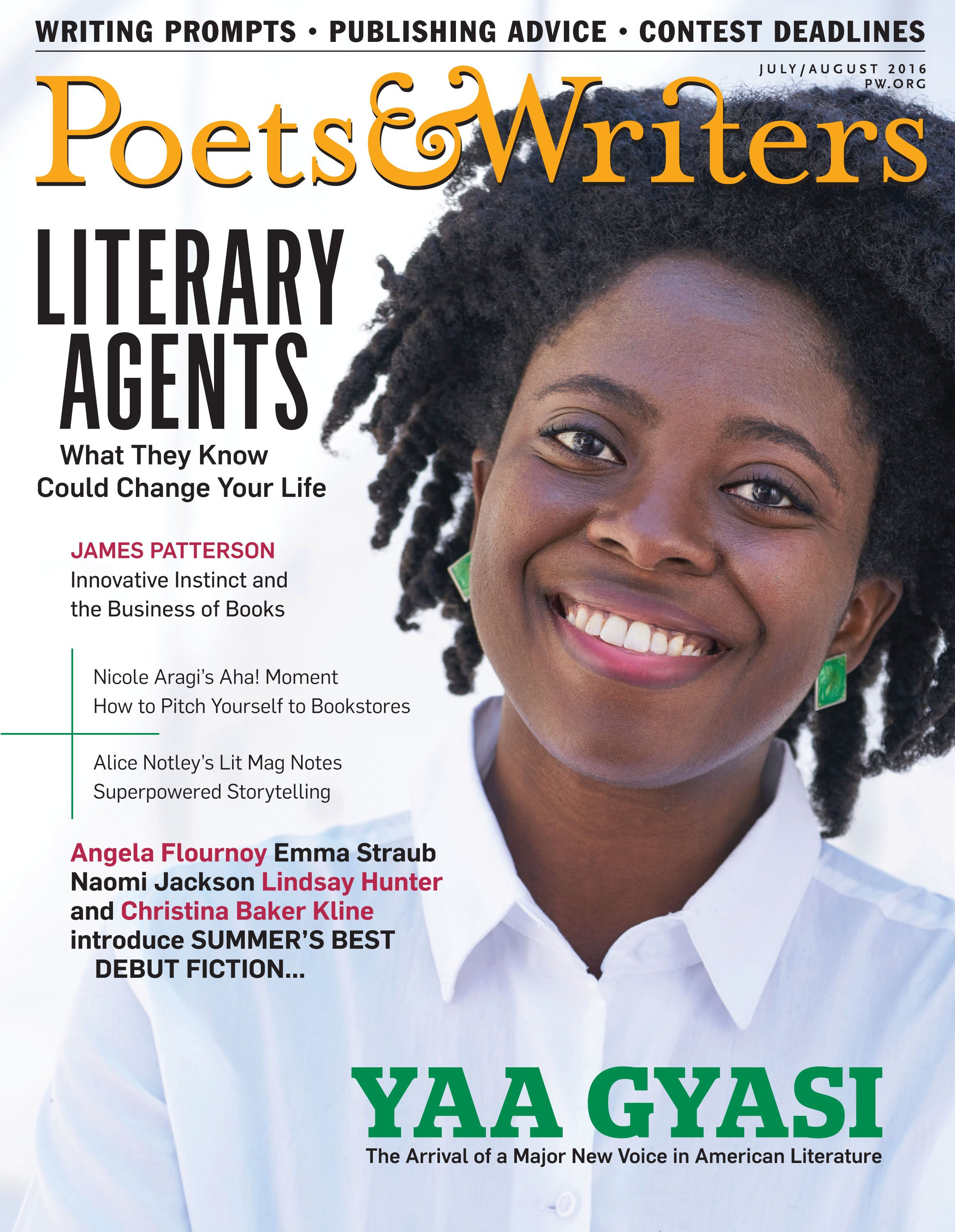Poets and writers agents