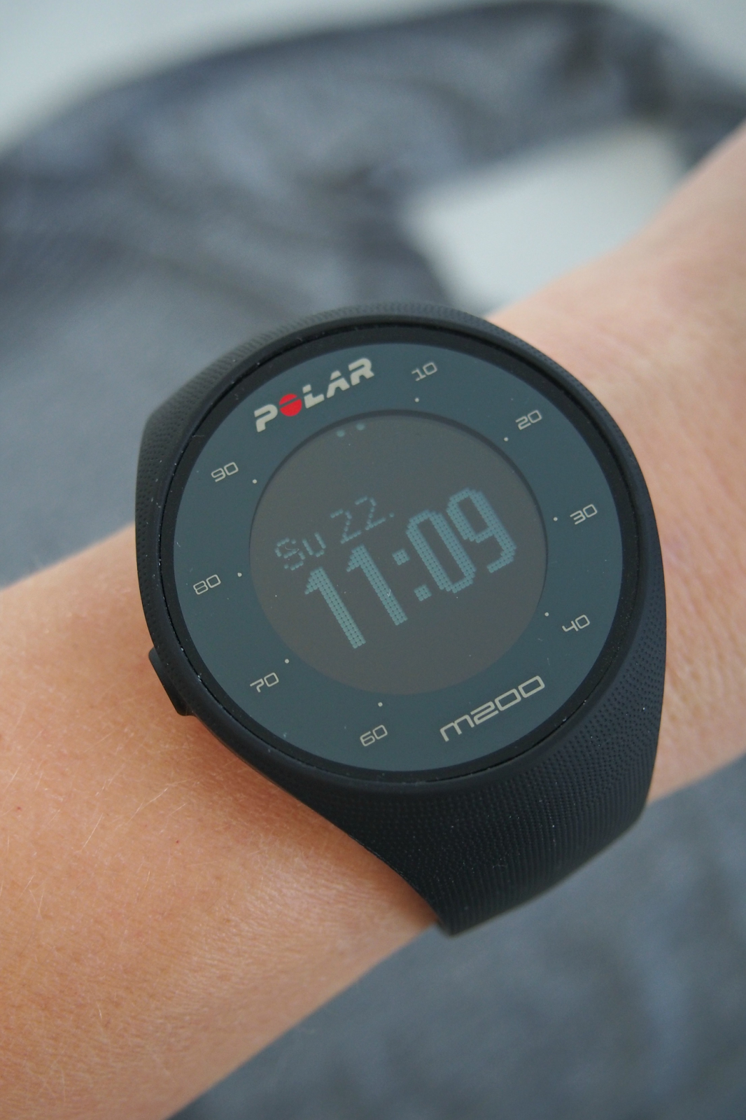 Hannas Home / My new heart rate monitor Polar M200