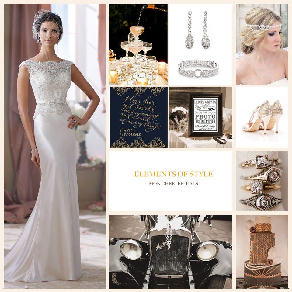 Wedding Inspiration | Gatsby wedding, Gatsby and David tutera