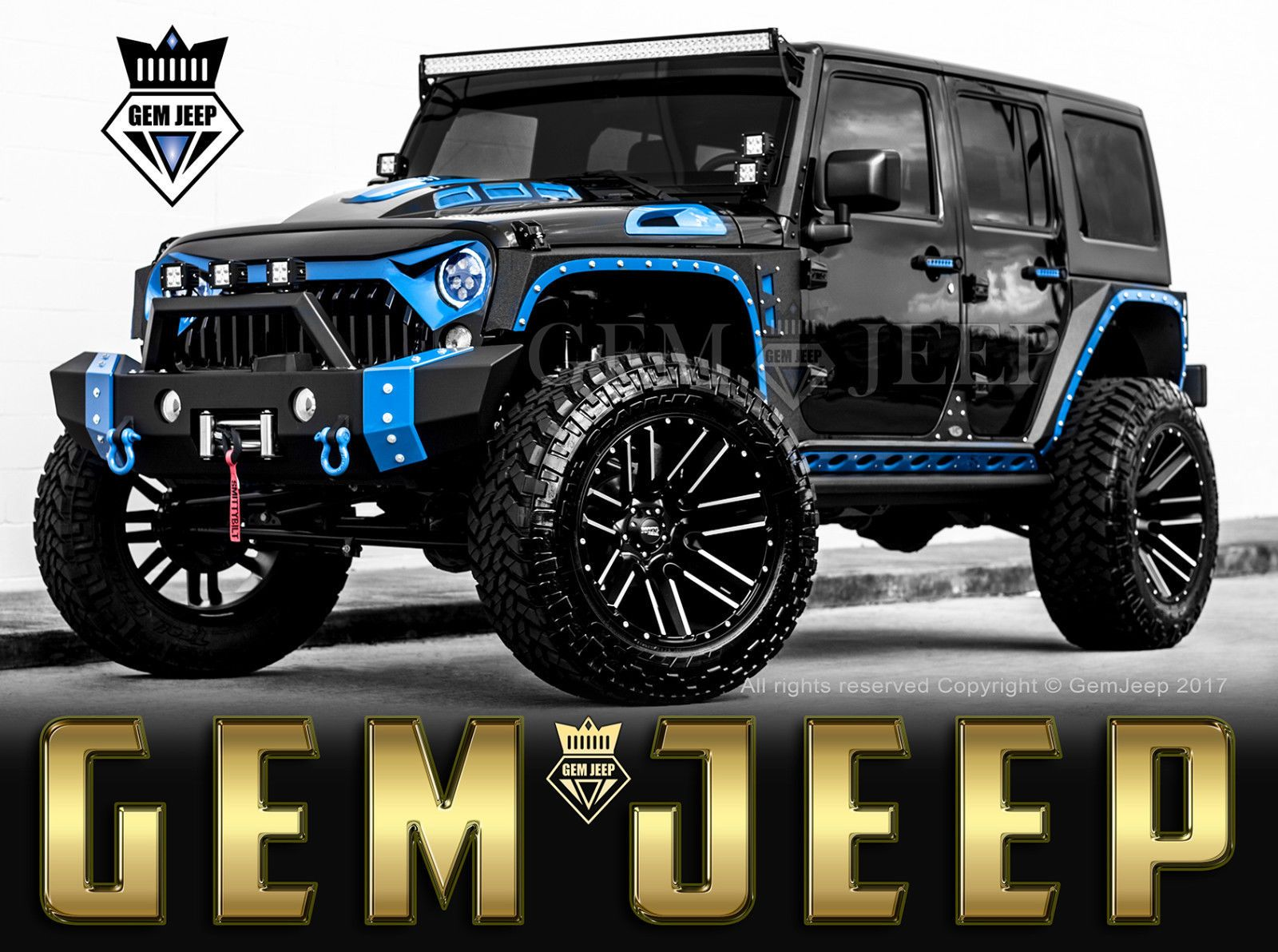 2017 Jeep Wrangler Fully Customized Unlimited Sport