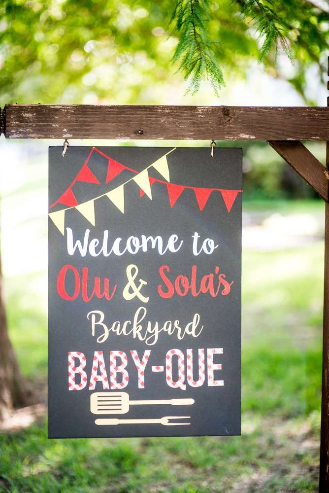Bbq Baby Shower Party Ideas Baby Que Pinterest Baby Shower