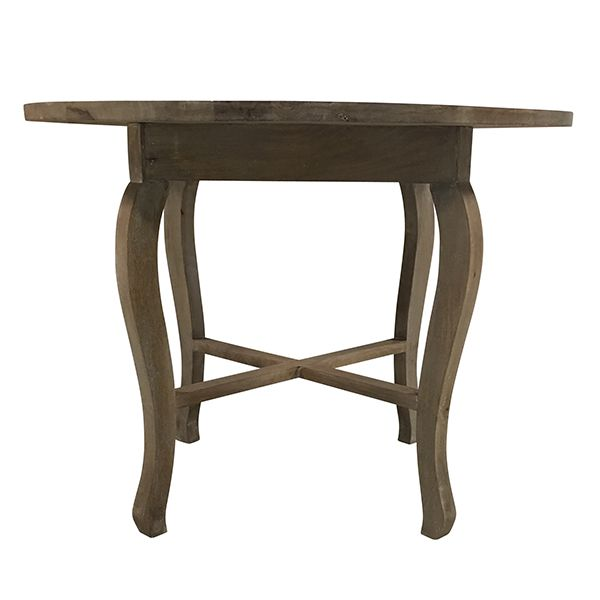 entry table dimensions farmhouse fern table french grey round table perfect for sweetheart table cake table or entry dimensions 40 30 12