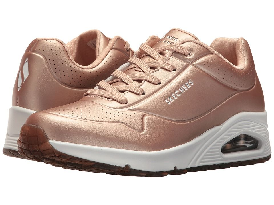 SKECHERS Uno Rose Bold Women's Lace up casual Shoes Rose