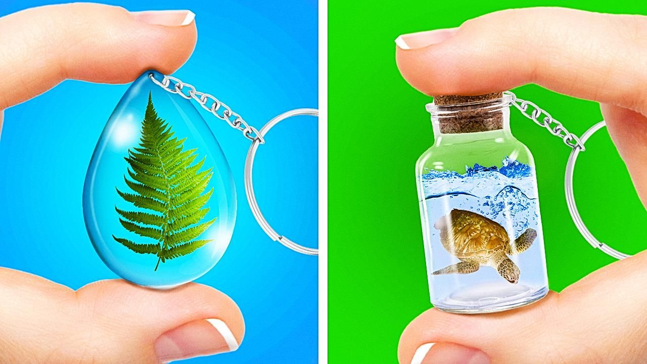 Photo of Incredible Crafts You Can Do With Resin, 3D Pen and Glue Gun