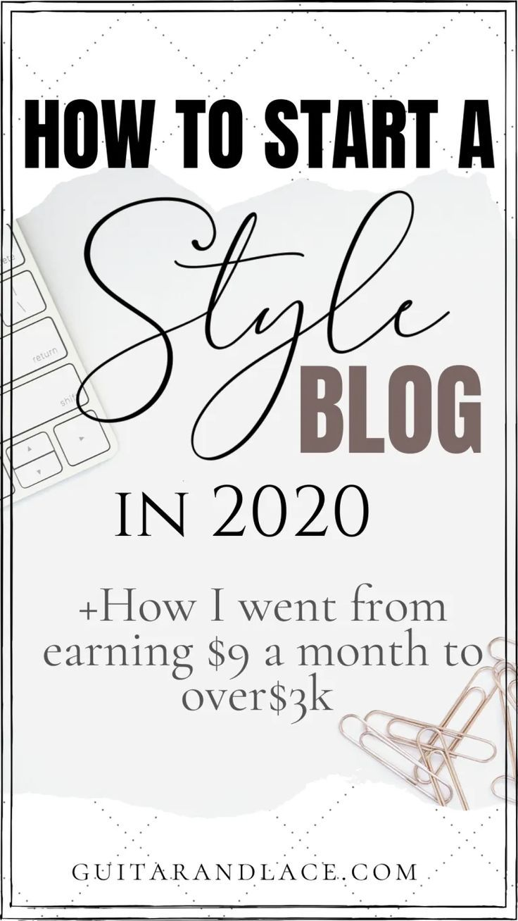 How I Started my Style Blog + earn over 3k a month! How