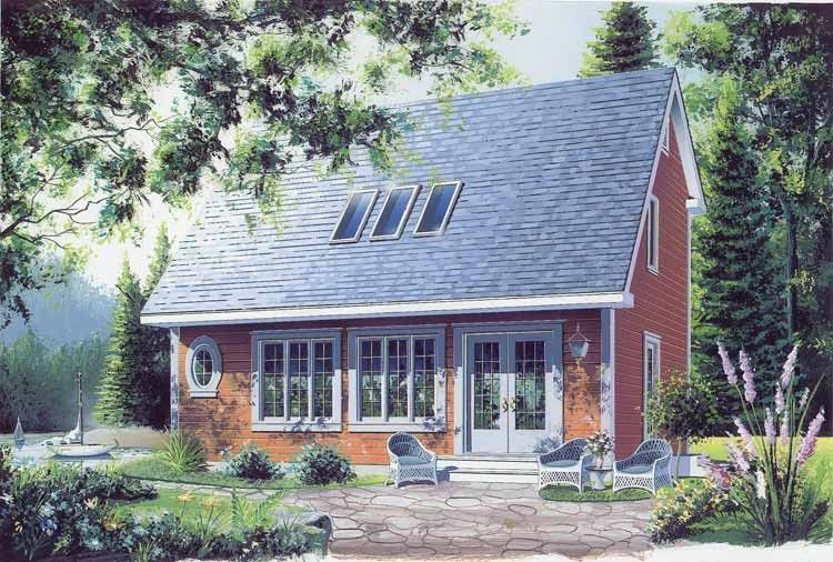 Cottage Style House Plan 2 Beds 1 5 Baths 1175 Sq Ft Plan 23 2018