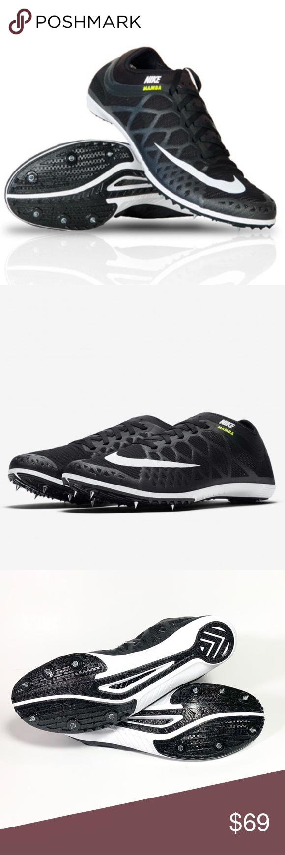 295c0976c2fa Nike Zoom Mamba 3 Distance Track Spikes Mens 11 New