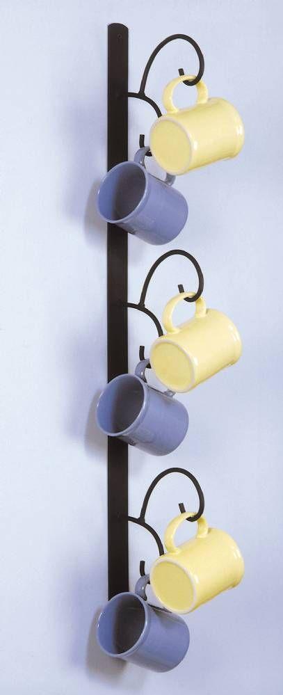Cup Racks Vertical Mug Tree Mug Rack Coffee Mug Holder Iron Furniture