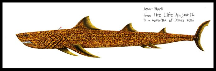 jaguar shark. would like to have this made into a wall decal to
