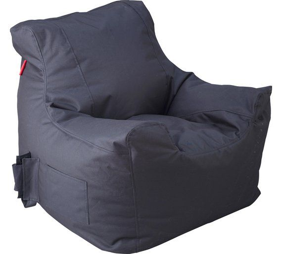 Excellent Buy Colourmatch Large Polyester Teenagers Beanbag Black At Squirreltailoven Fun Painted Chair Ideas Images Squirreltailovenorg