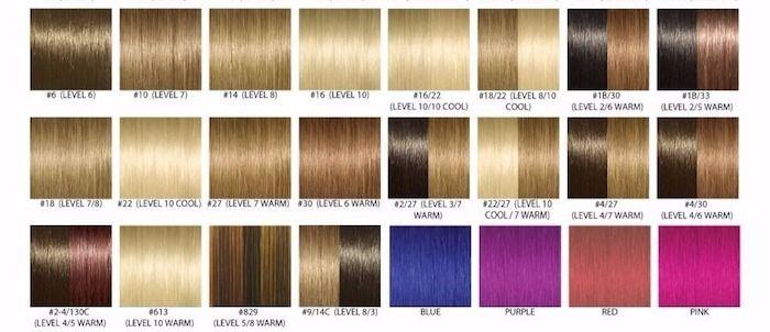 welche haarfarbe passt zu mir tipps ideen und viele bilder zum vergleichen pinterest. Black Bedroom Furniture Sets. Home Design Ideas