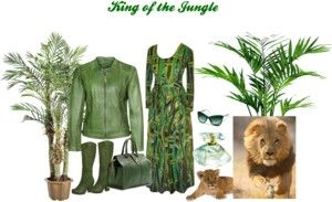 """""""King of the Jungle"""" by renaes on Polyvore"""