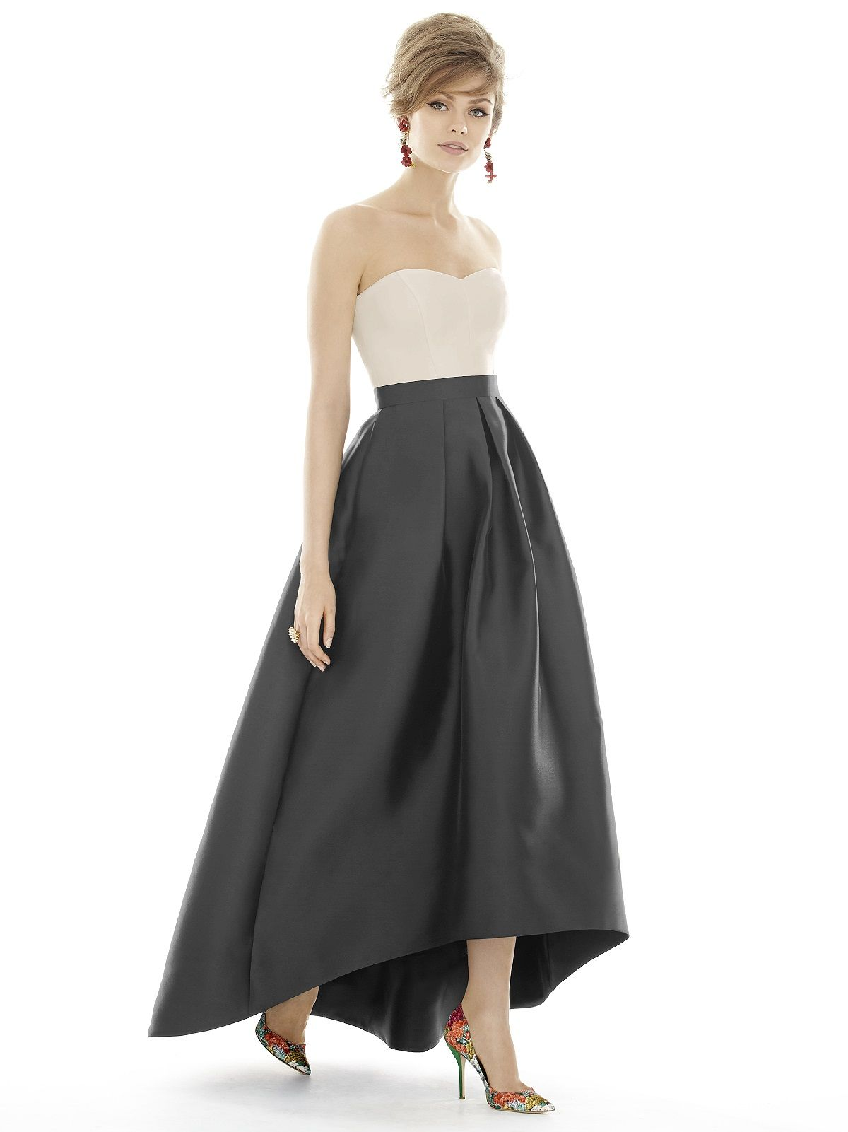 Tailored in sateen twill the dessy alfred sung d699 bridesmaid tailored in sateen twill the dessy alfred sung d699 bridesmaid dress offers a flattering a ombrellifo Gallery