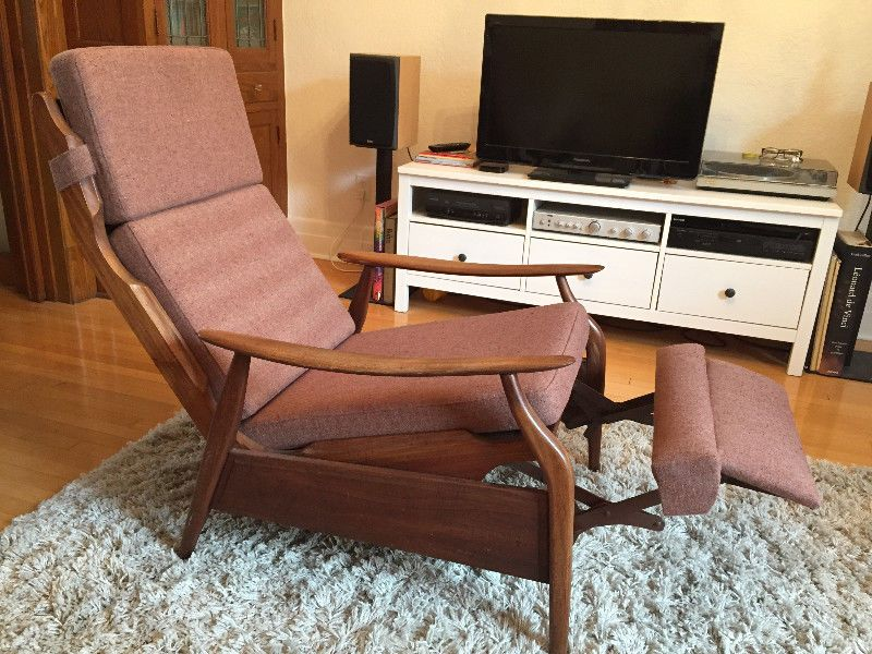 Fauteuil inclinable scandinave chaises fauteuils for Meuble montreal kijiji