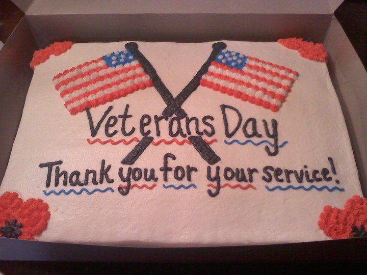 Veterans Day Cake With Images Patriotic Cake Veterans Day