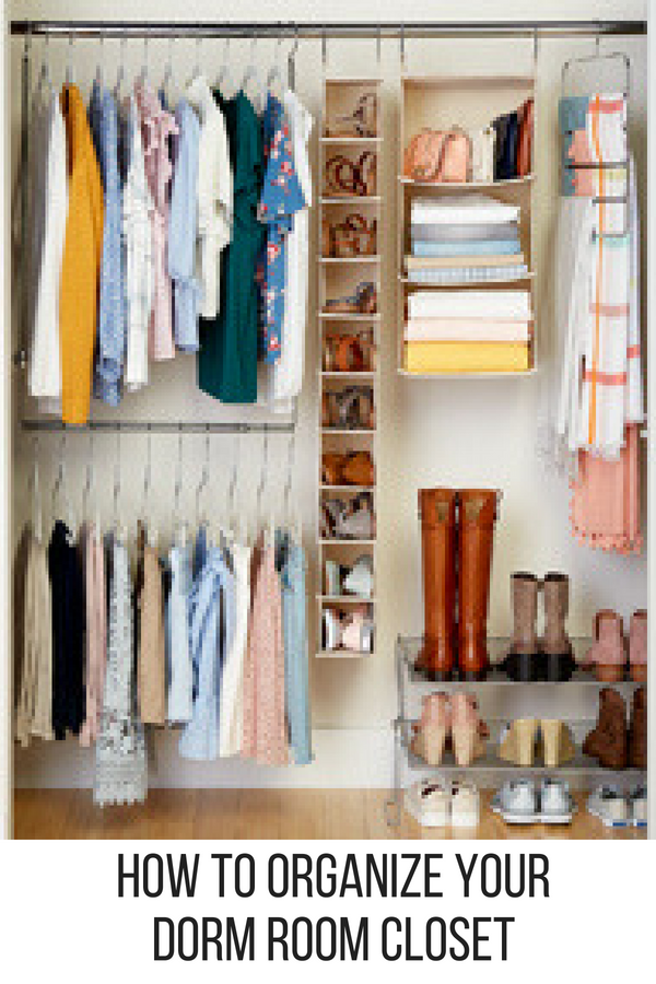11 Ways To Make The Most Of Your Dorm Room: There's No Way All Your Clothes Are Going To Fit In Your