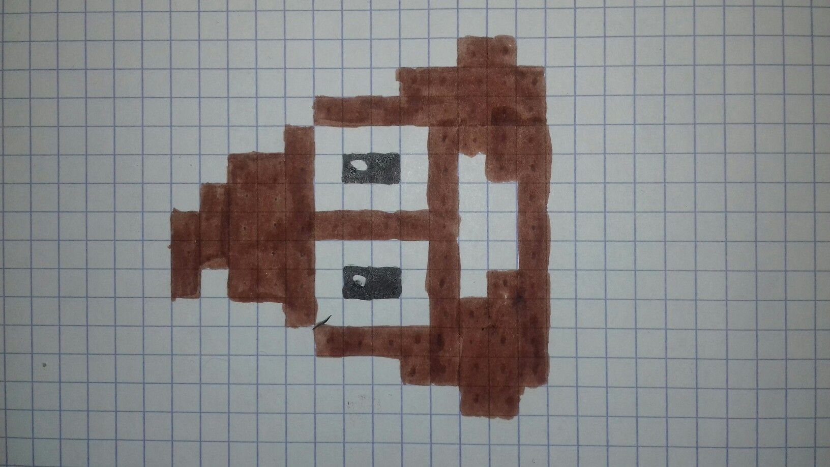 Crotte Pixel Art Art Mandala