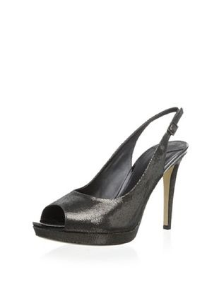 90% OFF Donald J Pliner Women's Gees Chain Pump (Black Pewter)