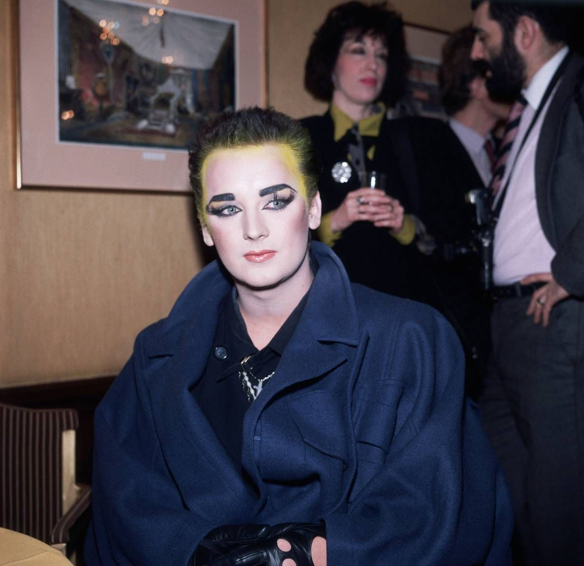 Boy george long hair fifty most iconic gender benders of all time  boy george boys and