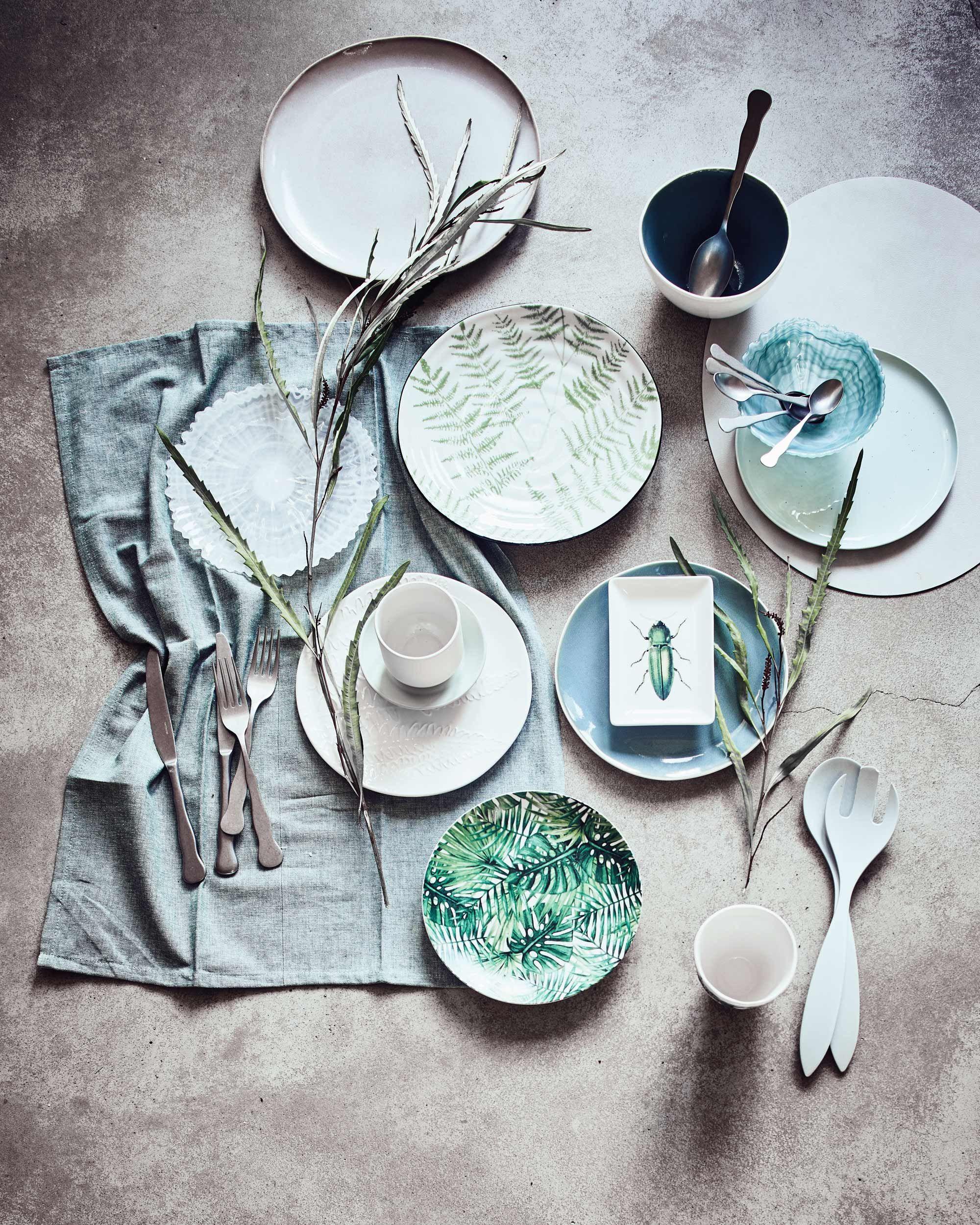 servies tafel   kleuren   Pinterest
