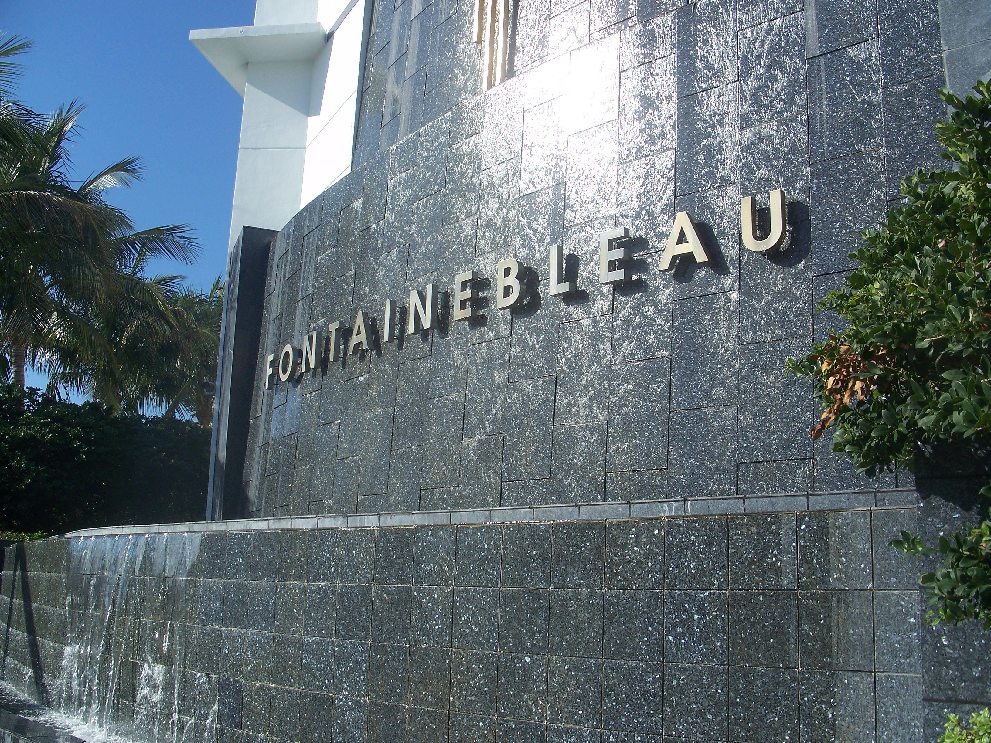 The Fontainebleau Hotel Miami Beach