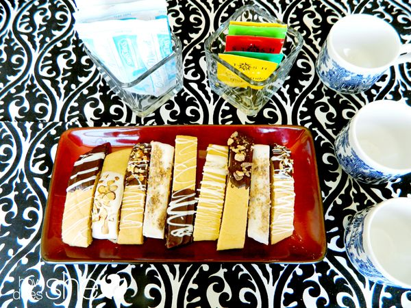 Make your own biscotti!  Mother's Day Tea Party With Yummy Biscotti | How Does She...