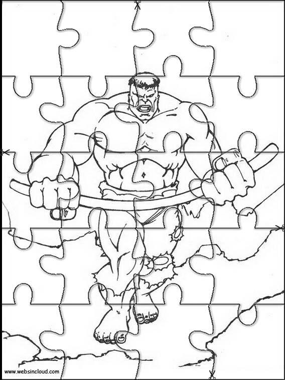 Puzzles. Quebra-cabeças para cortar e imprimir para