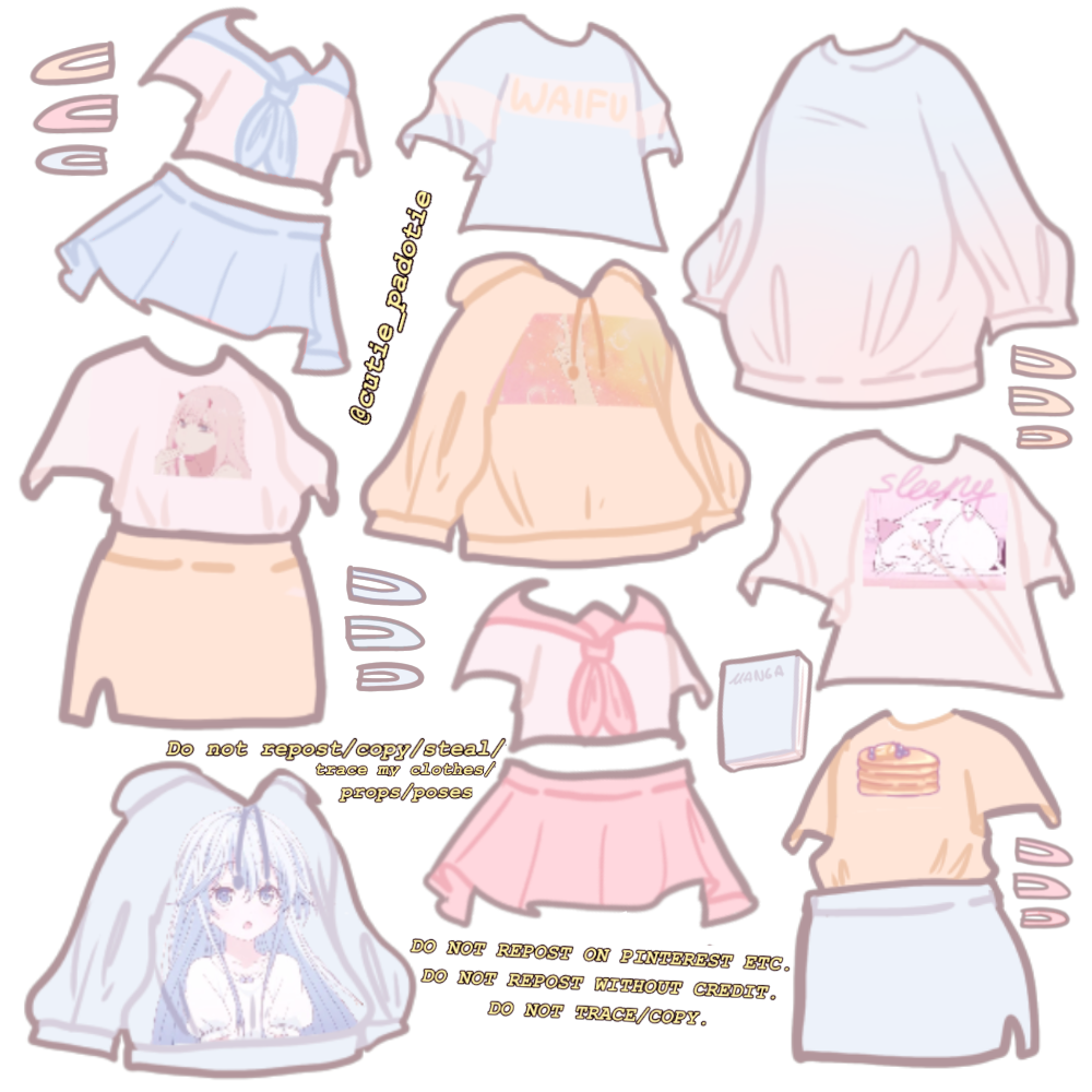 Credit Me If You Use This In 2020 Drawing Anime Clothes Cartoon Outfits Anime Outfits